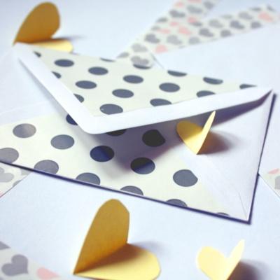 Liebespost: Briefpapier selbstgemacht