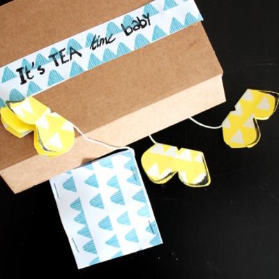 Frühling auf der Tasse: DIY Schmetterling-Teebeutel