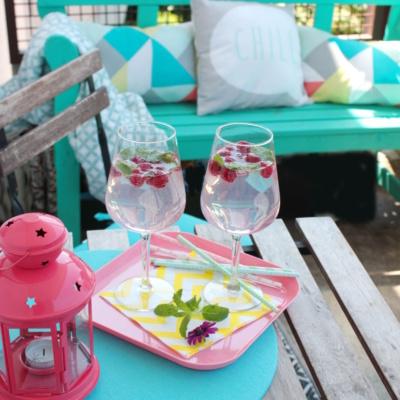 Balkonliebe und mein liebster Sommerdrink