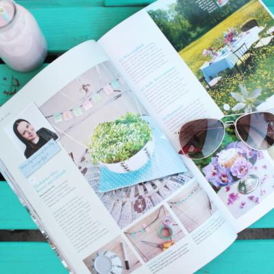 Morgenfreuden: Mein DIY im Magazin