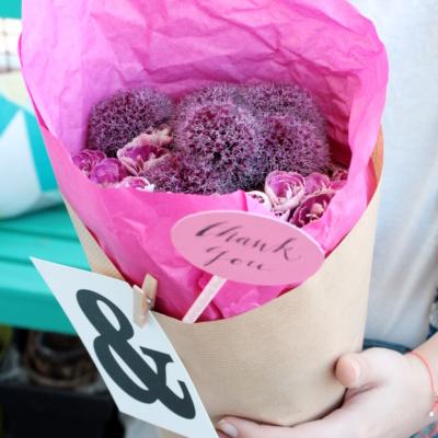 Blumen verschenken zum Muttertag – 5 hübsche Verpackungsideen