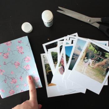 Fotoleporello Polaroid DIY 6