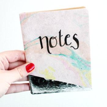 Notizbuch selbst gestalten 5