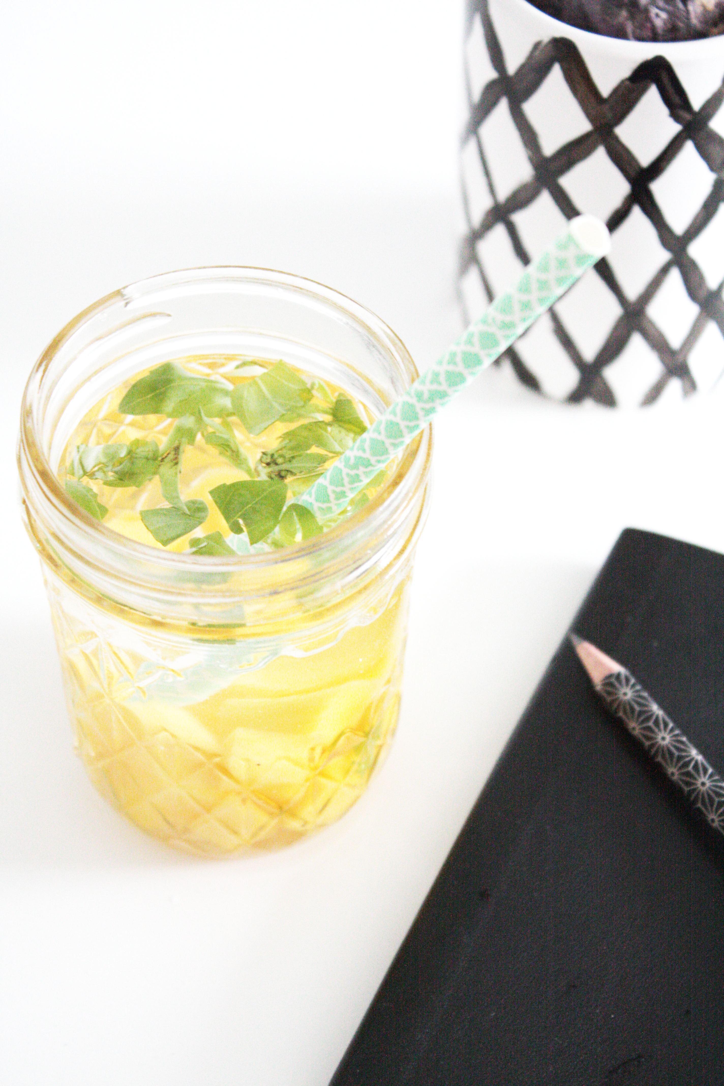 Detox Wasser Rezept 7 Rosy Grey Diy Blog Lettering Munchen