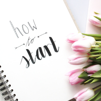 Handlettering Basics 1: Richtig starten