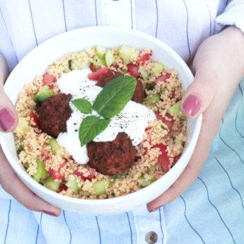 Quick Lunchbowl Couscous Salat Rezept