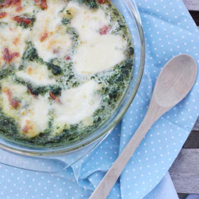 Schnell & lecker: Gnocchi Spinat Auflauf