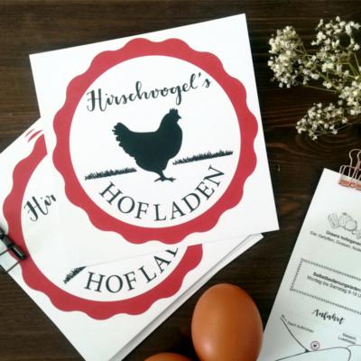 Hirschvogel's Hofladen (Corporate Design)