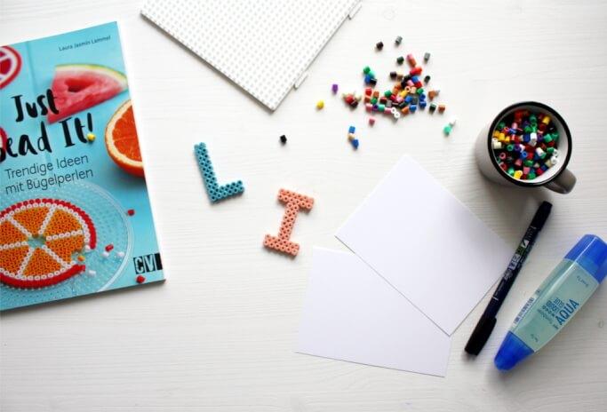 DIY Blog Buegelperlen Buchstaben basteln 3 - Rosy & Grey - DIY Blog ...