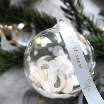 Weihnachtstisch Deko selbermachen Christmas Party DIY Blog München