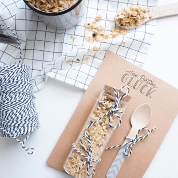 Selbstgemachtes Müsli verpacken und verschenken DIY Blog