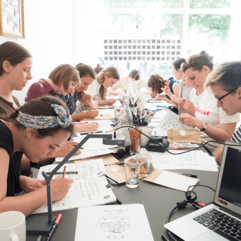 Meine Handlettering Workshops - Eindrücke & Behind the Scenes!