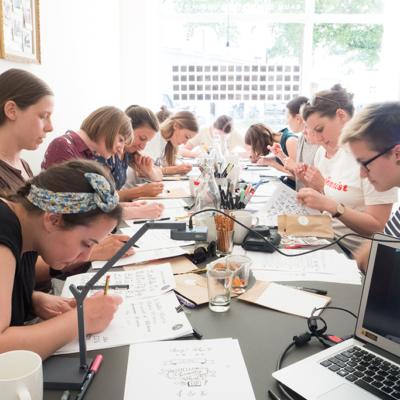 Meine Handlettering Workshops – Eindrücke & Behind the Scenes!