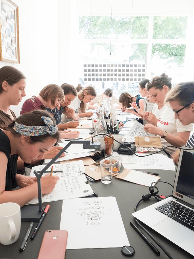 Handlettering Workshop für Anfänger München