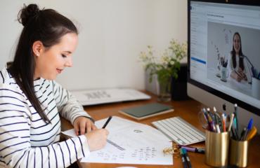 Mit meinem Handlettering Online Kurs Lettering lernen