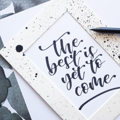 Die 5 häufigsten Brush Lettering Fehler