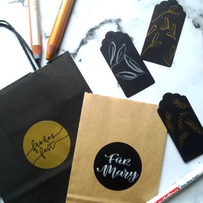 Christmas Lettering: 3 einfache Ideen