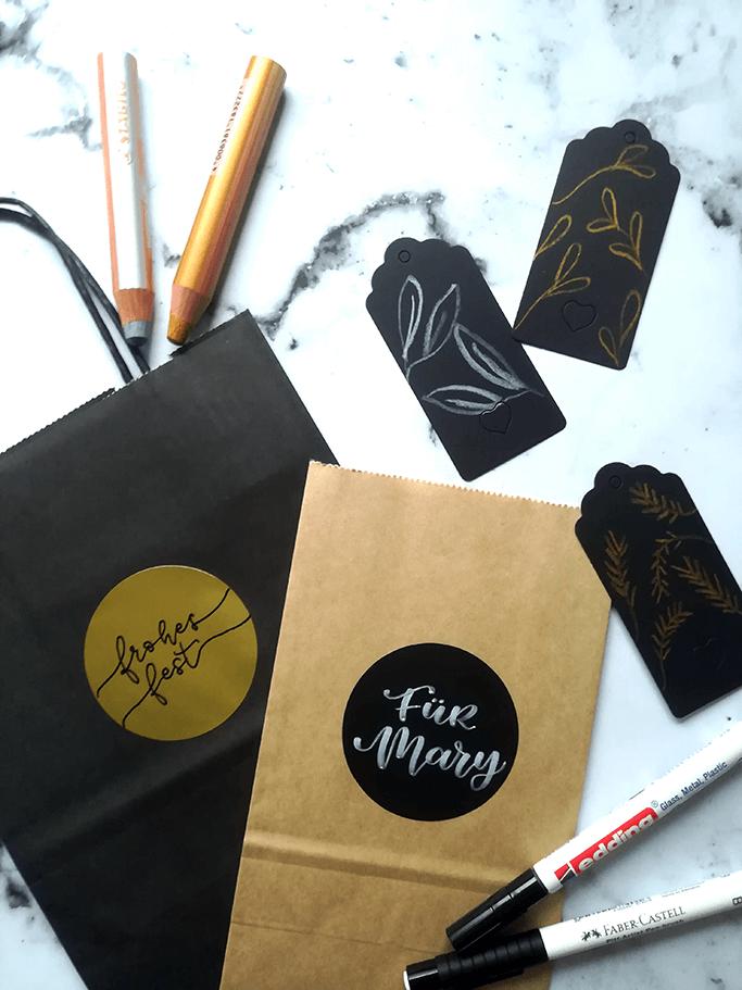 Christmas Lettering Ideen für Anfänger