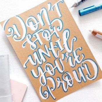 3 Gründe, warum du noch nicht richtig letterst