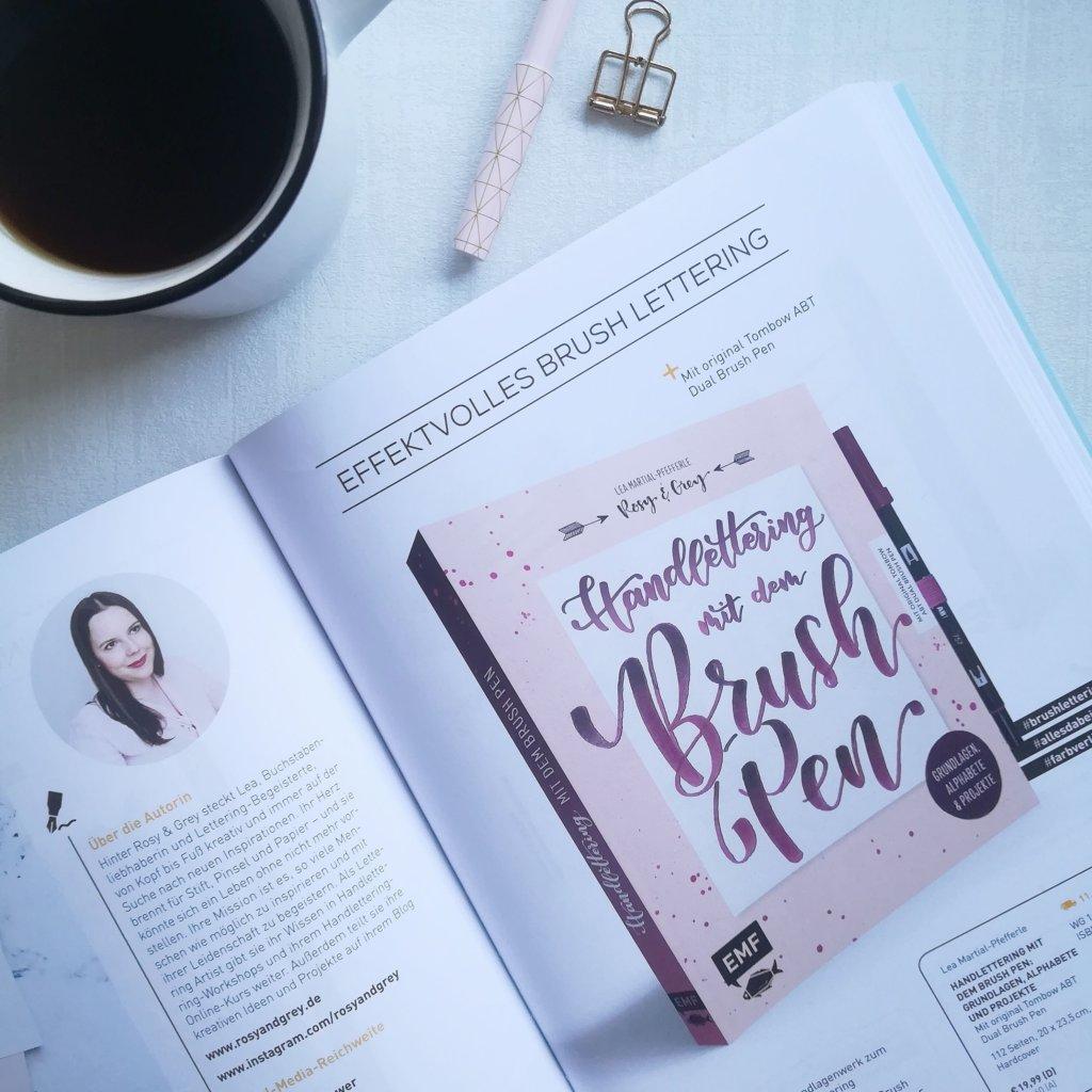Handlettering Buch Handlettering mit dem Brush Pen