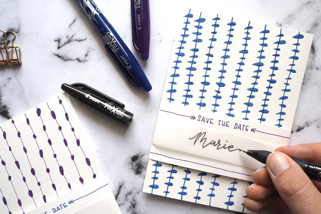 Personalisierte Einladungskarten gestalten mit Handlettering