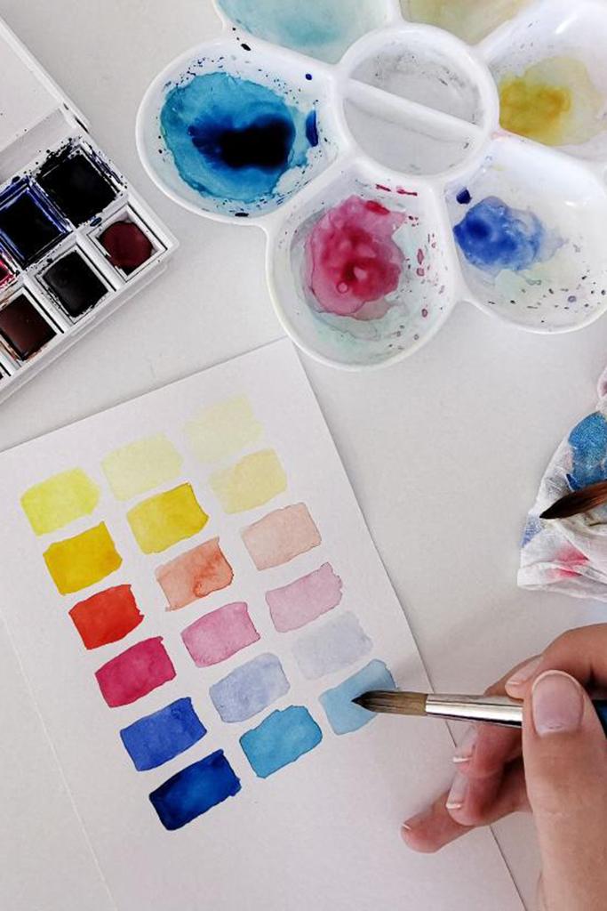 Welche Fehler du als Watercolor-Anfänger vermeiden solltest