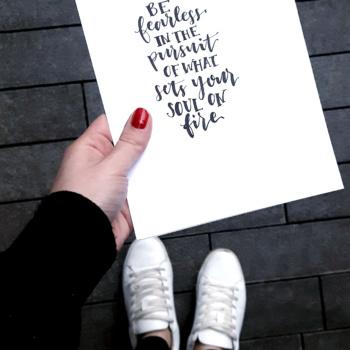 Lettering Spruch gestalten: 4 Raster, die du nutzen kannst
