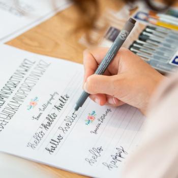 Lettering Material welche Stifte für Anfänger