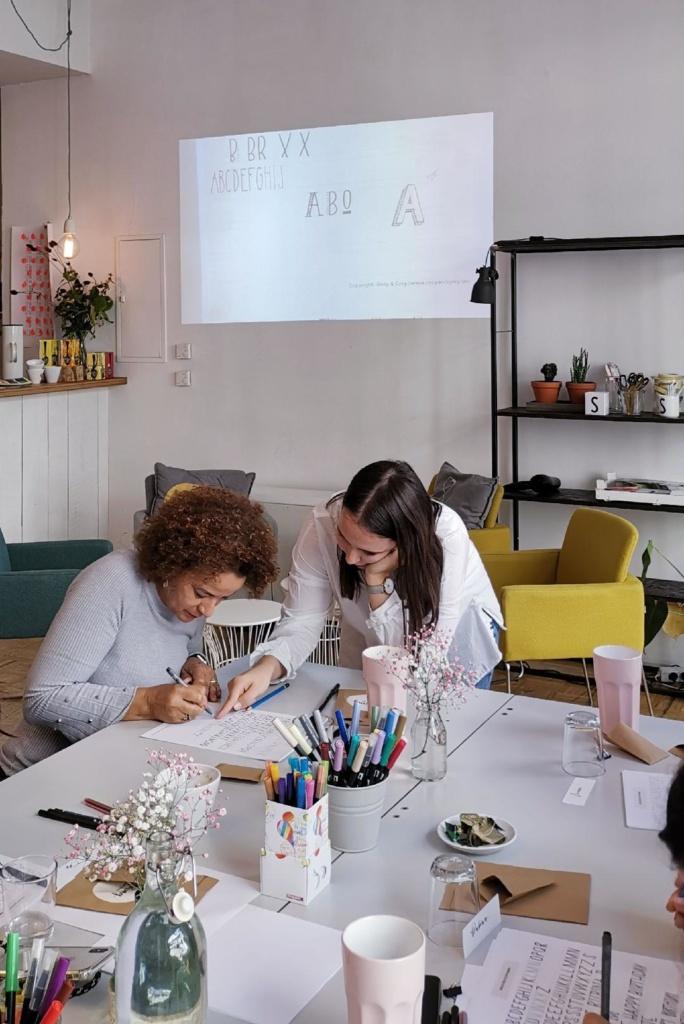 Lettering Workshop für Anfänger in München