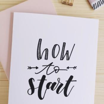 Handlettering lernen: Richtig starten