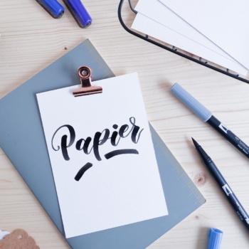 Welches Papier für welchen Brushpen?