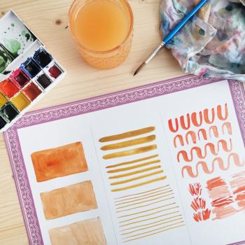 3 Watercolor Übungen für Anfänger