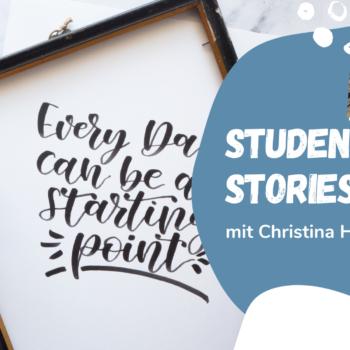 Student Stories Interview: Wie Christina es von der Anfängerin zum Profi geschafft hat