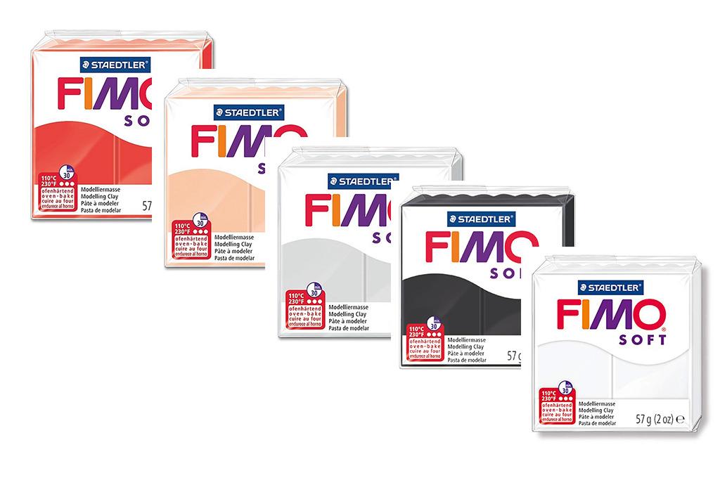 Pinselhalter & Pinselbank aus FIMO