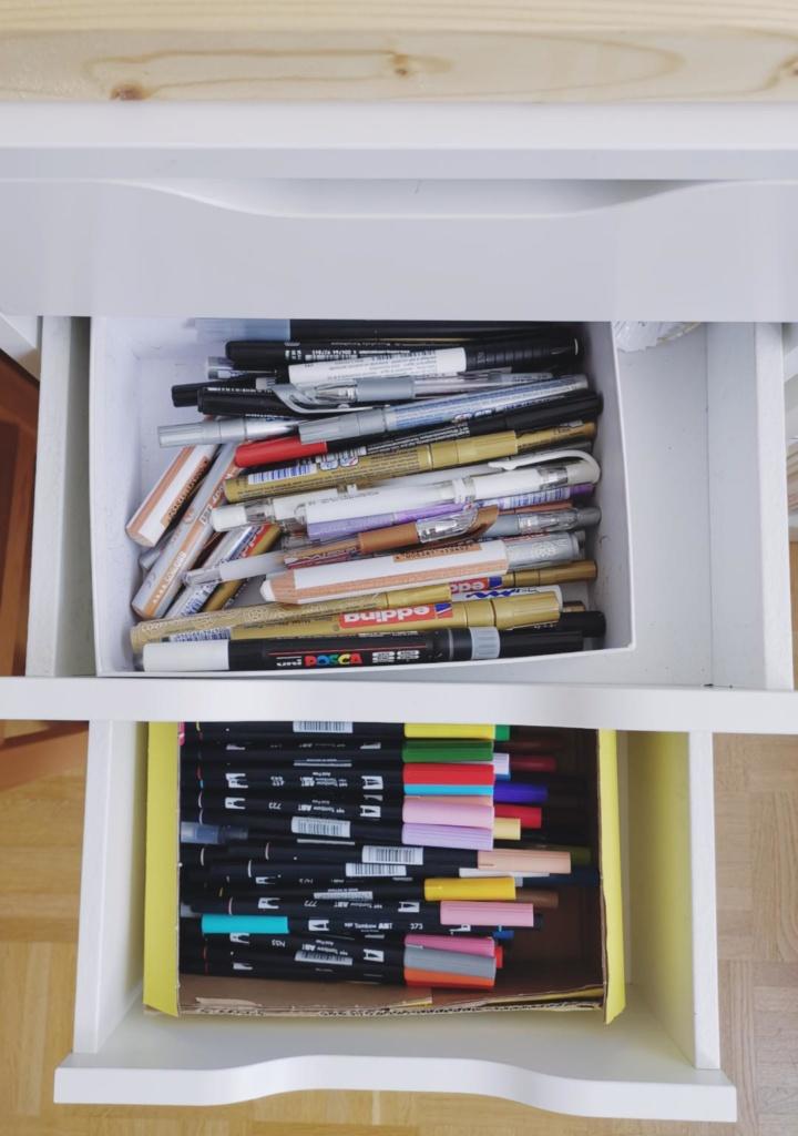 Lettering Stifte richtig lagern, aufbewahren und sortieren
